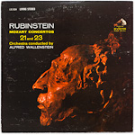 LSC-2634 - Mozart — Concertos Nos. 21 And 23 ~ Rubinstein • Wallenstein
