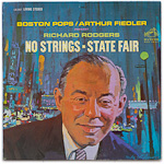 LSC-2637 - Rodgers — No Strings • State Fair ~ Boston Pops • Fiedler