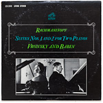 LSC-2648 - Rachmaninoff — Suites Nos. 1 And 2 For Two Pianos ~ Vronsky And Babin