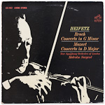 LSC-2652 - Bruch — Concerto In G-Major • Mozart — Concerto In D-Major ~ Heifetz