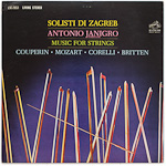 LSC-2653 - Music For Strings ~ Solisti Di Zagreb • Janigro