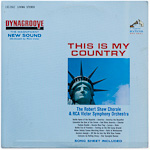 LSC-2662 - This Is My Country ~ The Robert Shaw Chorale & RCA Victor Symphony Orchestra