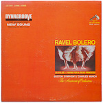LSC-2664 - Ravel — Bolero • La Valse • Pavan For A Dead Princess ~ Boston Symphony • Munch