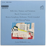 LSC-2667 - Dello Joio — Fantasy And Variations • Ravel — Concerto In G ~ Boston • Leinsdorf • Hollander