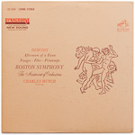LSC-2668 - Debussy — Afternoon Of A Faun • Nuages • Fetes • Printemps ~ Boston Symphony • Munch