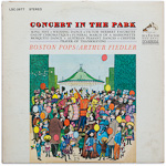 LSC-2677 - Concert In The Park ~ Boston Pops • Fiedler