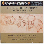 LSC-6066 - Beethoven's Ninth Symphony And Symphony No. 8 ~ Boston Symphony Orchestra, Munch