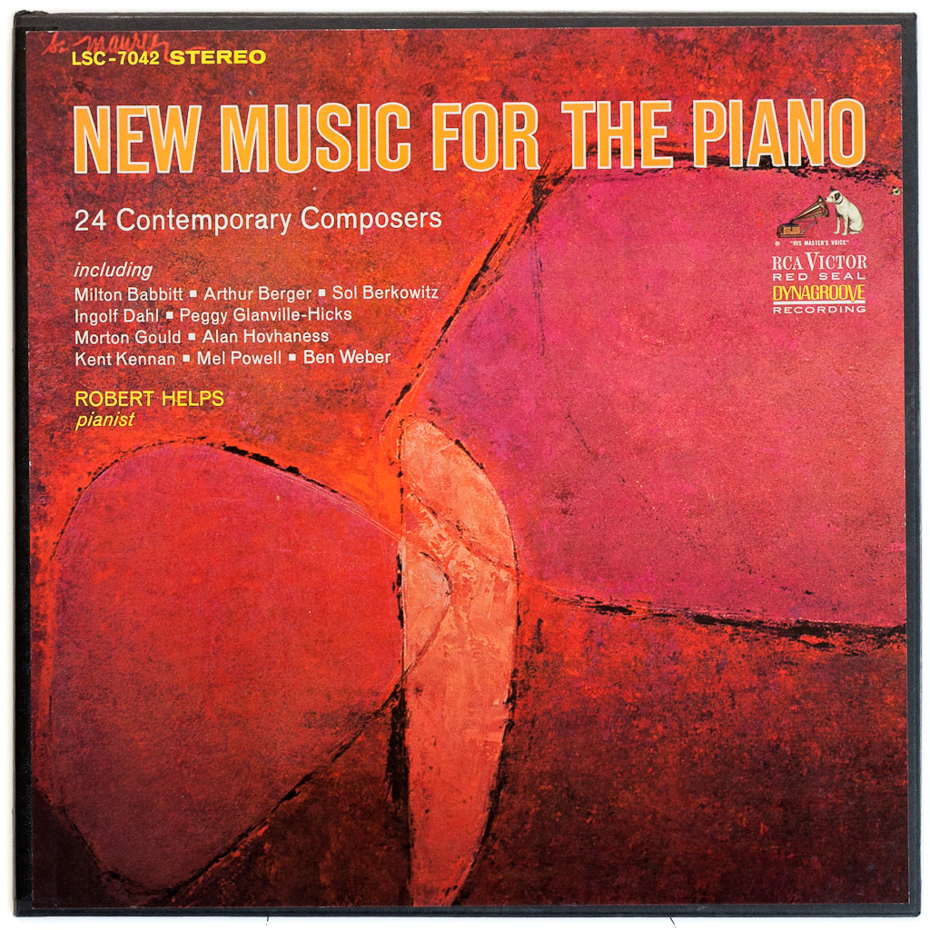 LSC-7042 - New Music For The Piano ~ Robert Helps